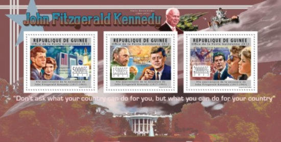 [The 95th Anniversary of the Birth of John Fitzgerald Kennedy, 1917-1963, Typ ]