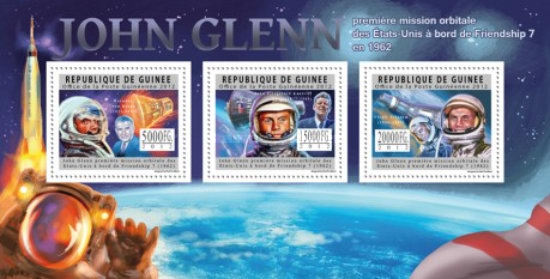 [Space - John Glenn, First Space Mission 1962, Typ ]