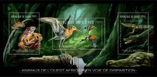 [Endangered Animals of West Africa - Reptiles & Birds, Typ ]