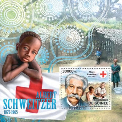 [Red Cross - Albert Schweitzer, 1875-1965, Typ ]