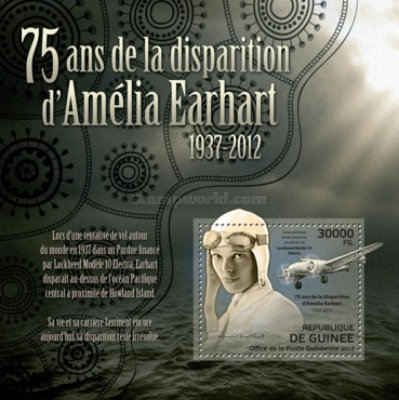 [The 75th Anniversary of the disappearance of Amelia Earhart, 1937-2012, Typ ]