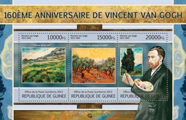 [The 160th Anniversary of the Birth of Vincent Van Gogh, 1853-1890, type ]
