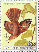 [Airmail - Birds - The 200th Anniversary of the Birth of John J. Audubon, 1785-1851, Typ ABD]
