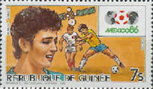 [Football World Cup - Mexico '86, Typ ABO]