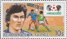 [Football World Cup - Mexico '86, Typ ABP]