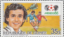 [Football World Cup - Mexico '86, Typ ABT]