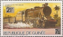 [Trains - Issue of 1985 Surcharged, Typ ABV1]