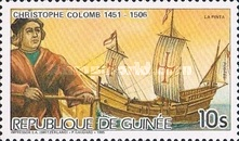 [The 480th Anniversary of the Death of Christopher Columbus (Explorer), 1451-1506, Typ ACA]
