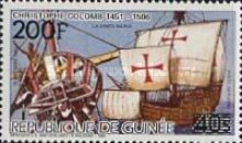 [Various Stamps Surcharged - Issues of 1985 Surcharged - Columbus, Typ ACD1]