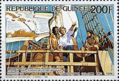 [The 480th Anniversary of the Death of Christopher Columbus (Explorer), Typ ADC]