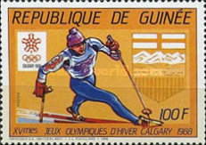 [Winter Olympic Games - Calgary '88, Canada, Typ AEA]