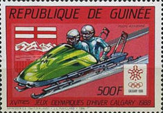 [Winter Olympic Games - Calgary '88, Canada, Typ AEC]