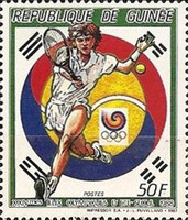[Olympic Games - Seoul, South Korea - Tennis, Typ AFA]