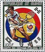 [Olympic Games - Seoul, South Korea - Tennis, Typ AFB]