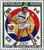 [Olympic Games - Seoul, South Korea - Tennis, Typ AFD]