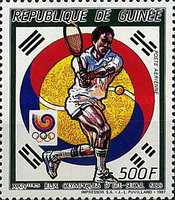 [Olympic Games - Seoul, South Korea - Tennis, Typ AFF]