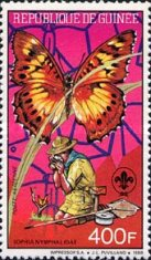 [The 50th Anniversary of the Death (1991) of Robert Baden-Powell, 1857-1941 - Issues of 1989 Overprinted
