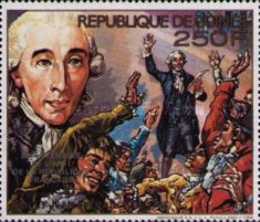 [The 200th Anniversary of Year One of First Republic of France - Issues of 1989 Overprinted