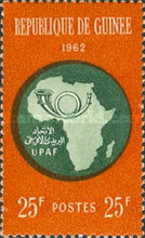[African Postal Union Commemoration, Typ AI]