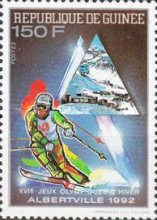 [Winter Olympic Games - Albertville, USA (1992), type AIH]