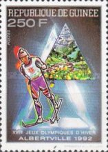 [Winter Olympic Games - Albertville, USA (1992), type AII]