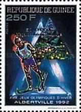 [Winter Olympic Games - Albertville, USA - Gold Medal Winners - Issues of 1990