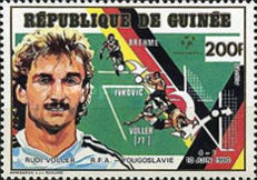 [West Germany, 1990 Football World Cup Champion - West German Players and Goals Scored, Typ AJQ]