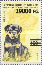 [Dogs - Surcharged, Typ ASJ1]