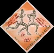 [Olympic Games Tokyo '64, Japan - Issues of 1963 Surcharged and Overprinted
