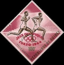 [Airmail - Olympic Games - Tokyo, Japan - Issues of 1963 Overprinted