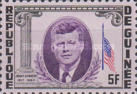 [President Kennedy Memorial Issue, Typ BX]