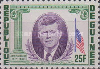 [President Kennedy Memorial Issue, Typ BX1]