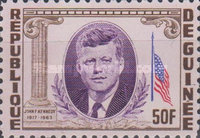 [President Kennedy Memorial Issue, Typ BX2]