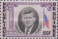 [President Kennedy Memorial Issue, Typ BX3]