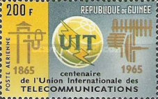 [The 100th Anniversary of I.T.U., Typ DV3]