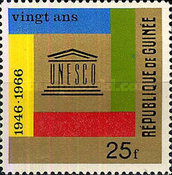 [The 20th Anniversary of UNESCO, Typ FH]