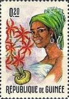 [Guinean Flora and Female Headdresses, Typ FJ]