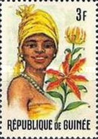 [Guinean Flora and Female Headdresses, Typ FM]