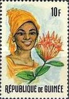 [Guinean Flora and Female Headdresses, Typ FO]