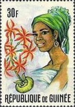 [Guinean Flora and Female Headdresses, Typ FQ]