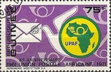 [The 10th Anniversary of African Postal Union, Typ MR2]