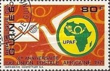 [The 10th Anniversary of African Postal Union, Typ MR3]