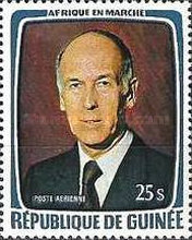 [Visit of President Giscard d'Estaing of France, Typ TT]
