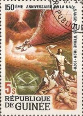 [The 150th Anniversary (1978) of the Birth of Jules Verne, Typ TW]