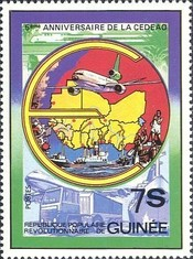 [The 5th Anniversary of Economic Community of West African States, type VS]