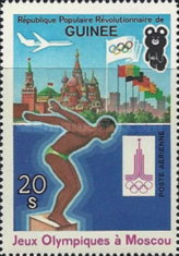 [Olympic Games - Moscow 1980, USSR, Typ WF]