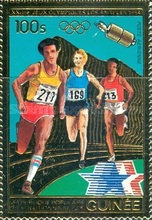 [Airmail - Olympic Games - Los Angeles '84, USA, Typ WY]