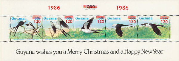 [Christmas - Issues of 1968 Overprinted