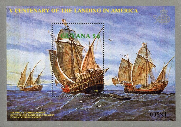 [The 500th Anniversary of the Discovery of America, Typ ]
