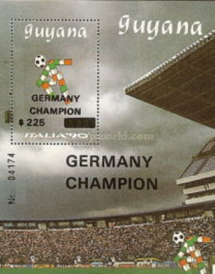 [Winners of Football World Cup - Italy 1990, Typ ]